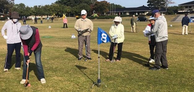 2020年10月28日(水)能登町老人クラブ連合会『グラウンドゴルフ大会』